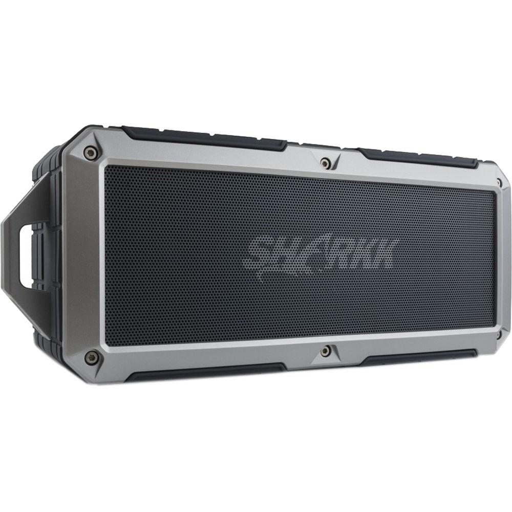 portable outdoor speakers. sharkk 2o waterproof bluetooth wireless speaker (gray) portable outdoor speakers m