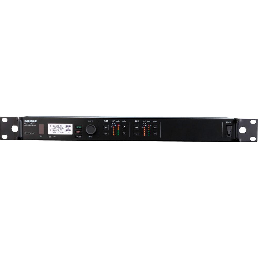 Dual Digital Wireless Rcvr1/2