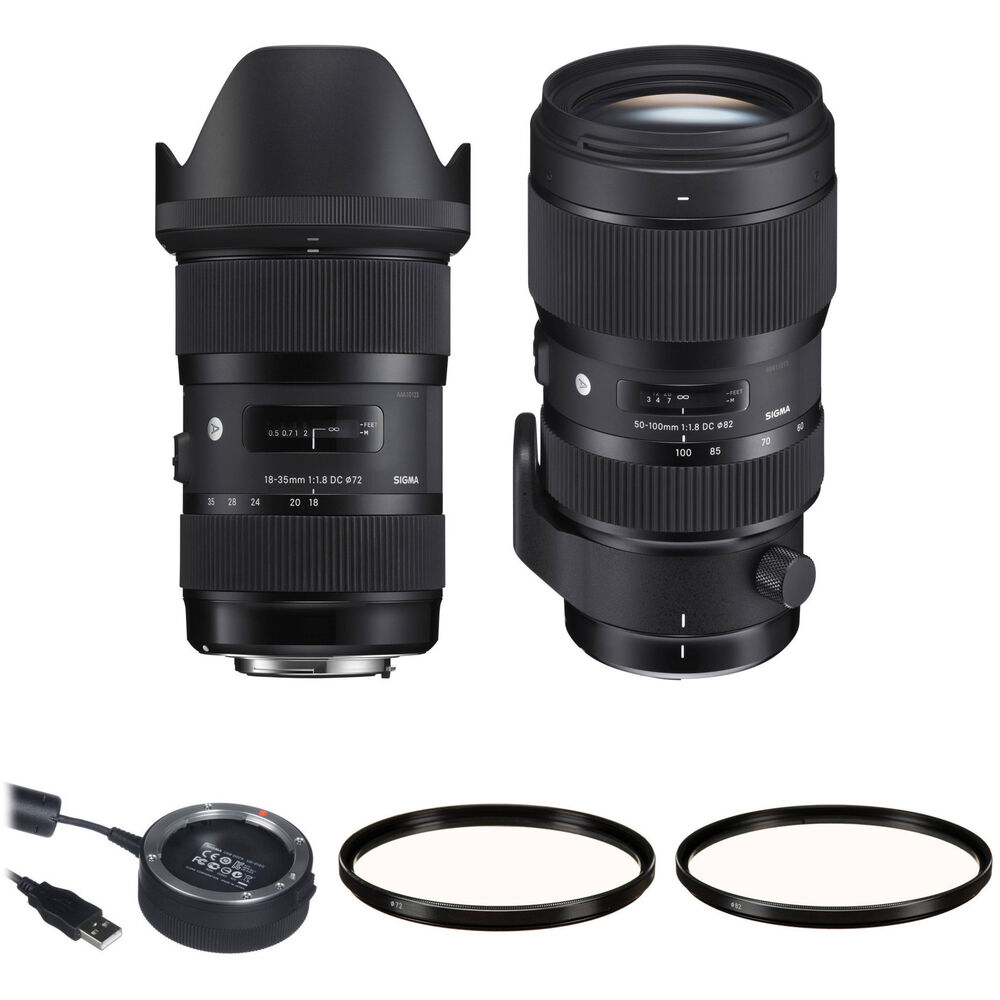 sigma 18 35mm f 1 8 and 50 100mm f 1 8 dc hsm art lenses. Black Bedroom Furniture Sets. Home Design Ideas