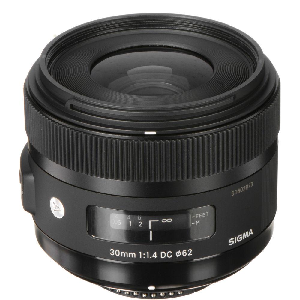 Sigma 30mm F 1 4 Dc Hsm Art Lens For Nikon 301 306 B Amp H Photo