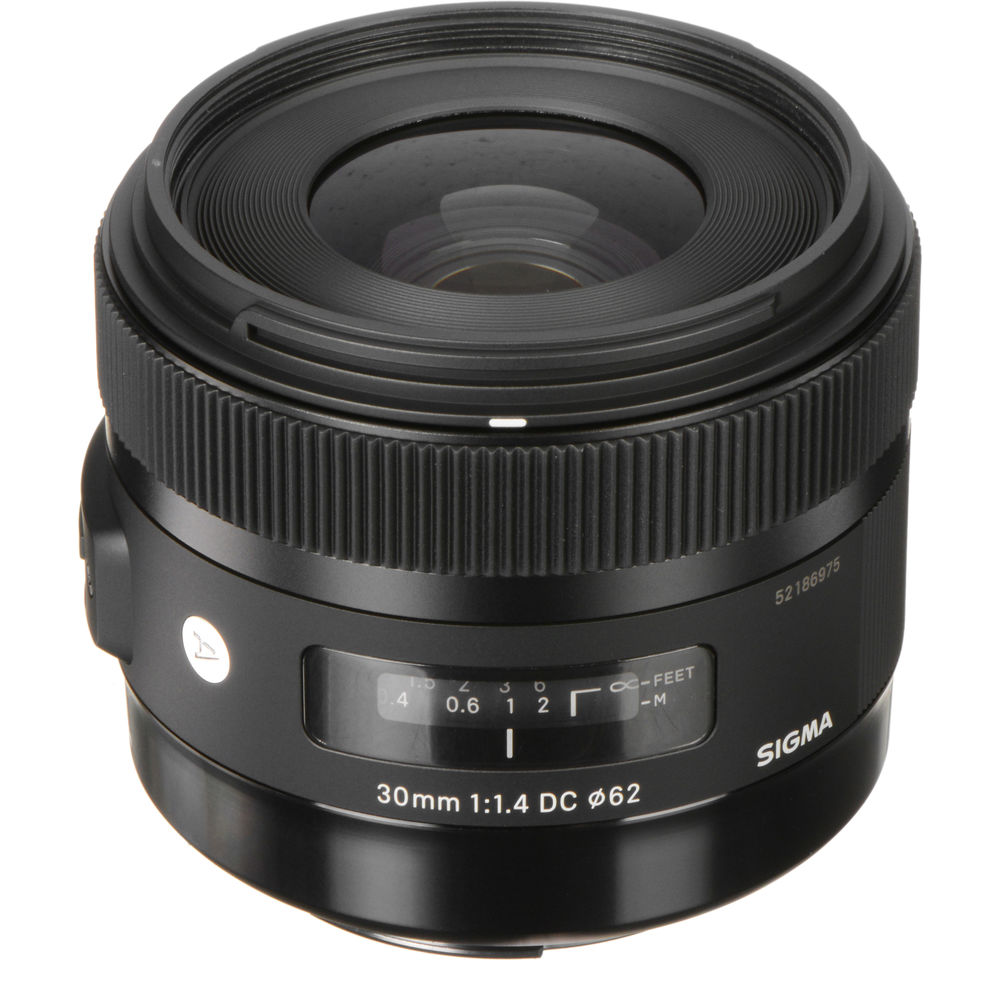 Sigma 30mm f/1.4 DC HSM Art Lens for Canon 301-101 B&H Photo