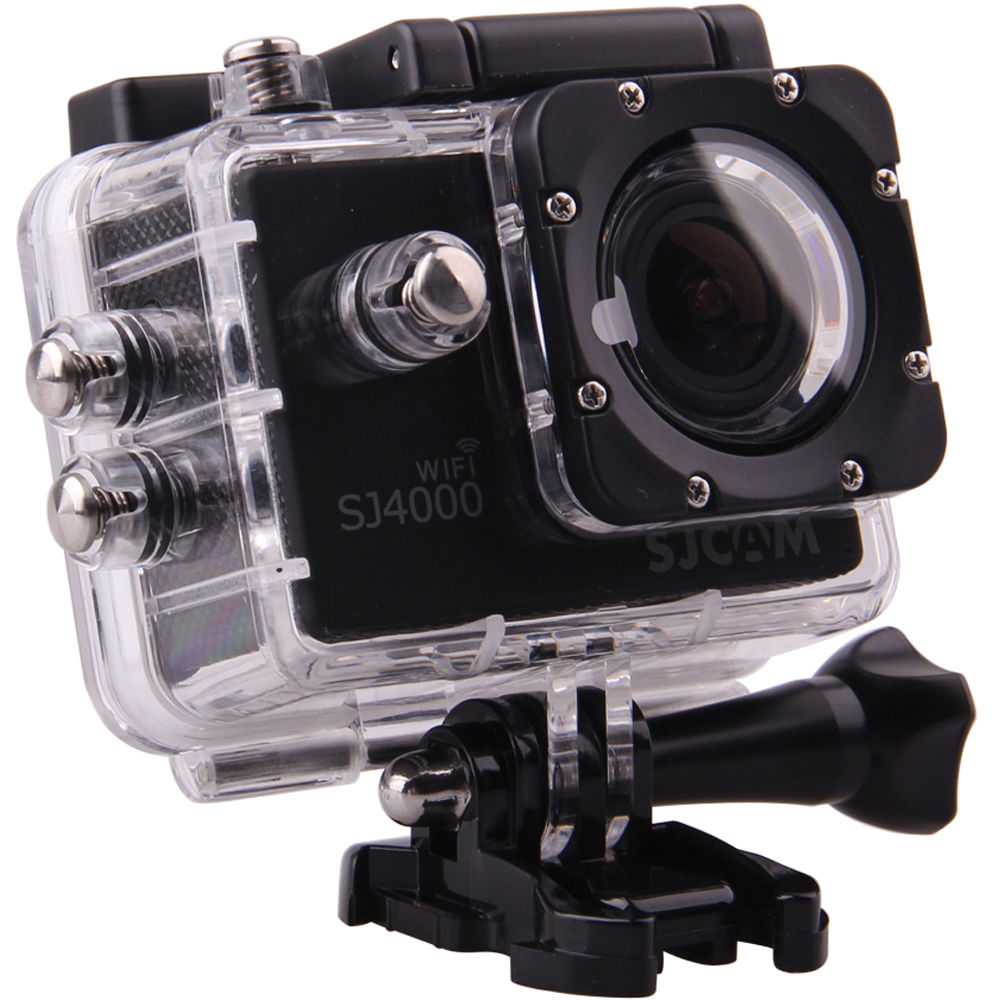 SJCAM SJ4000 Action Camera with WiFi Black SJ4000WFB Bamp;H