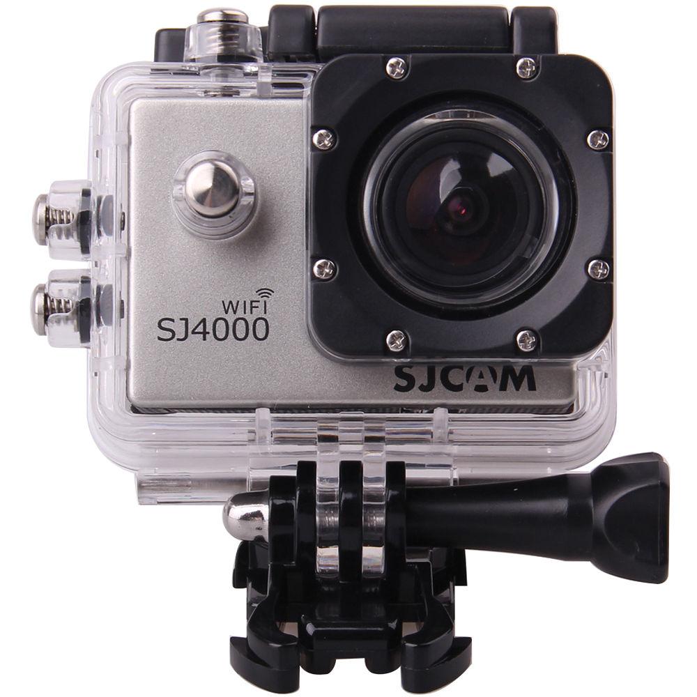 SJCAM SJ4000 Action Camera With Wi Fi Silver SJ4000WFS BampH