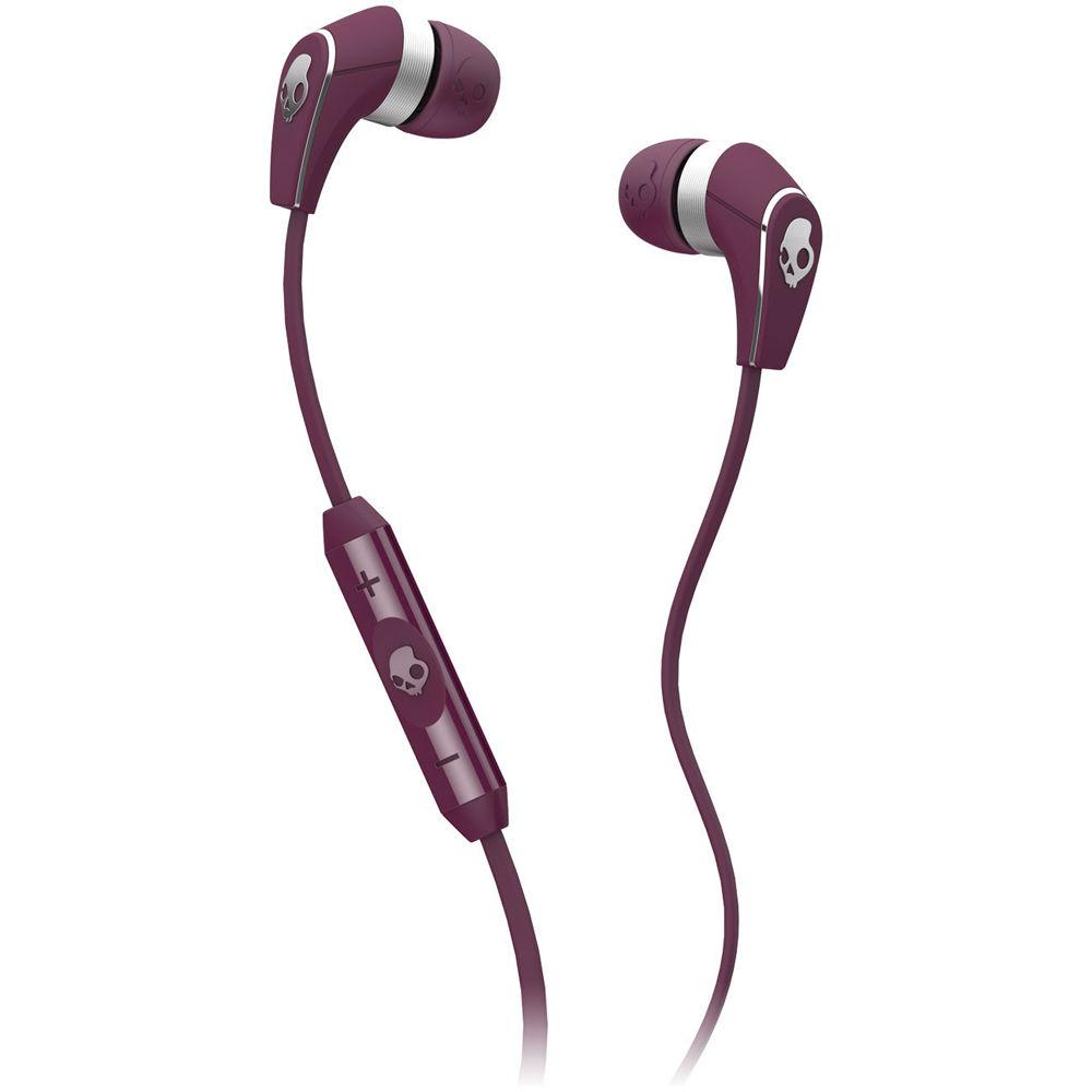 Skullcandy 50/50 Earbud Headphones (Plum and Chrome ...