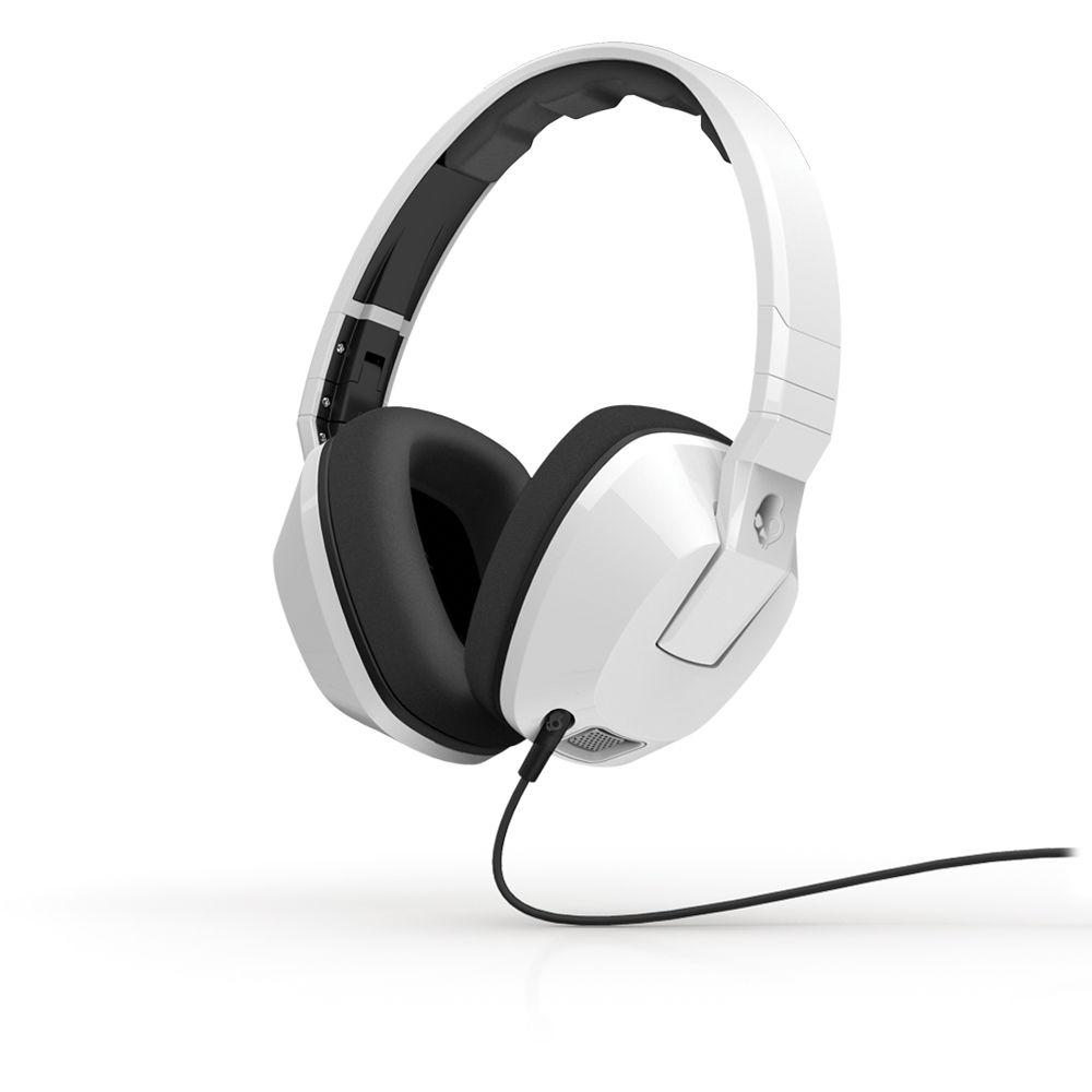 skullcandy crusher overear headphones white s6scfz072 bamph