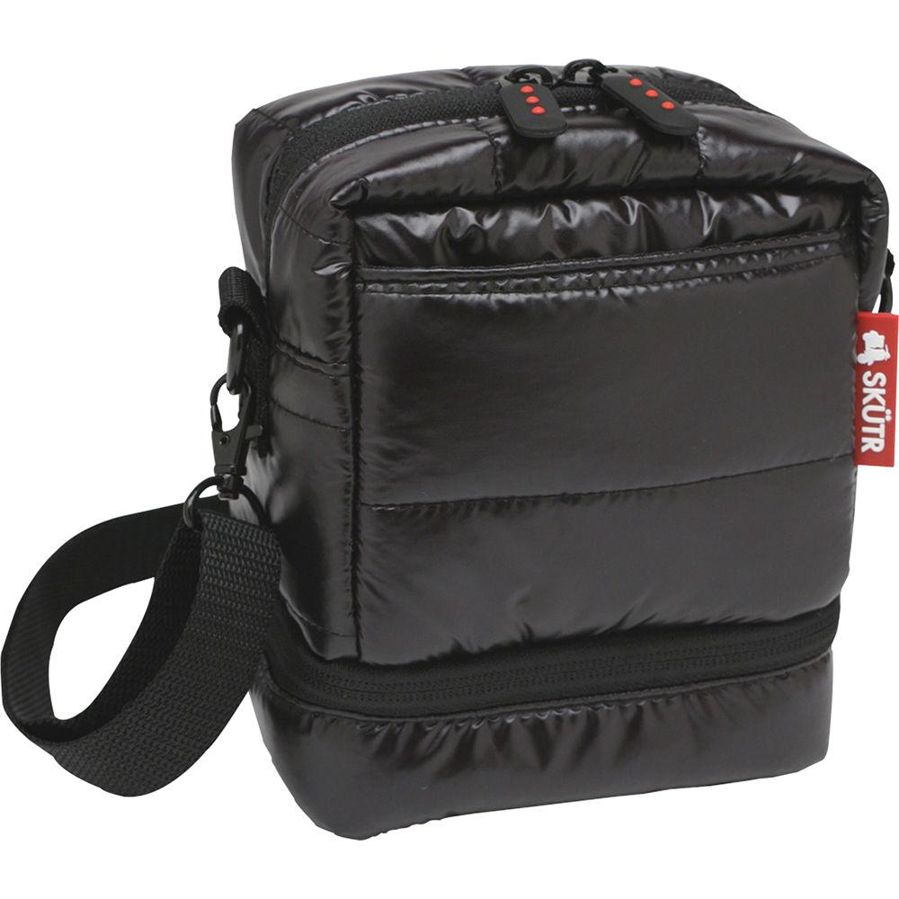 Skutr Camera Bag For Fujifilm Instax Mini 8 Or Polaroid 300 Black