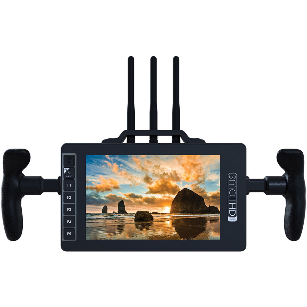 "SmallHD 703 Bolt 7"" Wireless Director's Monitor Bundle (Gold&nbsp ..."
