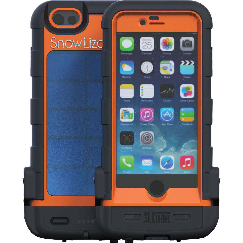 Snow Lizard SLXtreme 6 Rugged Battery Case For IPhone 6 (Orange)