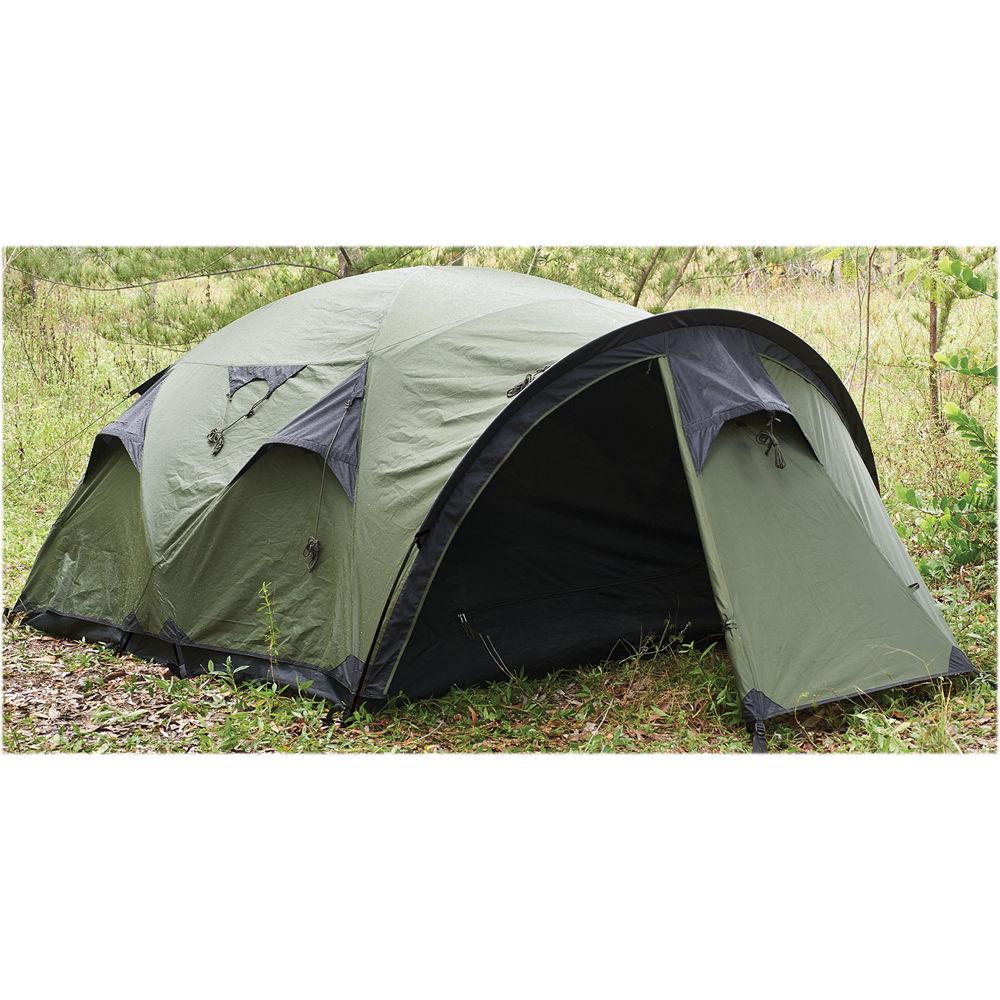 Snugpak The Cave 4-Person Tent (Olive)  sc 1 st  Bu0026H & Snugpak The Cave 4-Person Tent (Olive) 92894 Bu0026H Photo Video