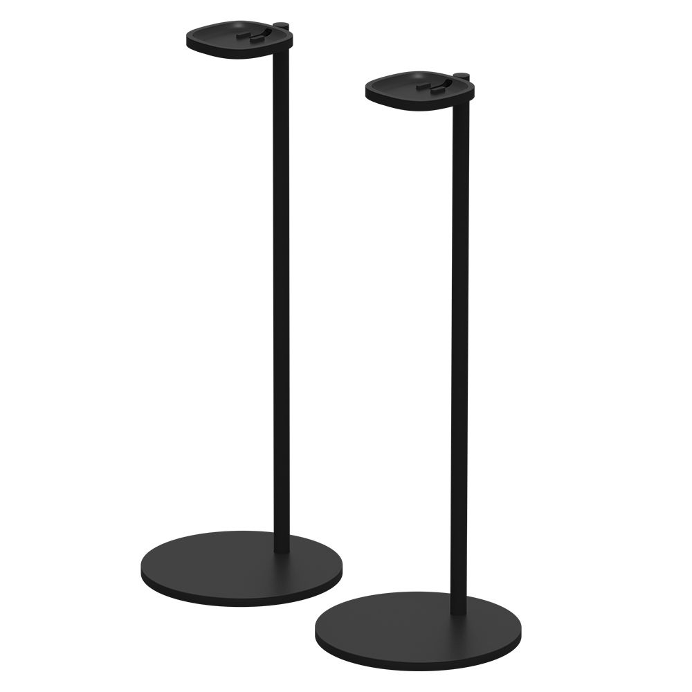 sonos stands for the sonos one or play 1 ss1fsww1blk b h photo. Black Bedroom Furniture Sets. Home Design Ideas