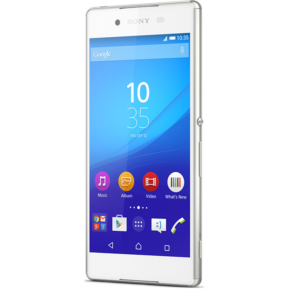 sony xperia z3 e6553 32gb smartphone unlocked white. Black Bedroom Furniture Sets. Home Design Ideas