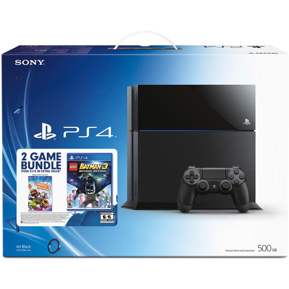 Sony Playstation 4 Bundle With Lego Batman 3000671 Beyond Gotham New Dual Shock Jet Black 3 Littlebigplanet