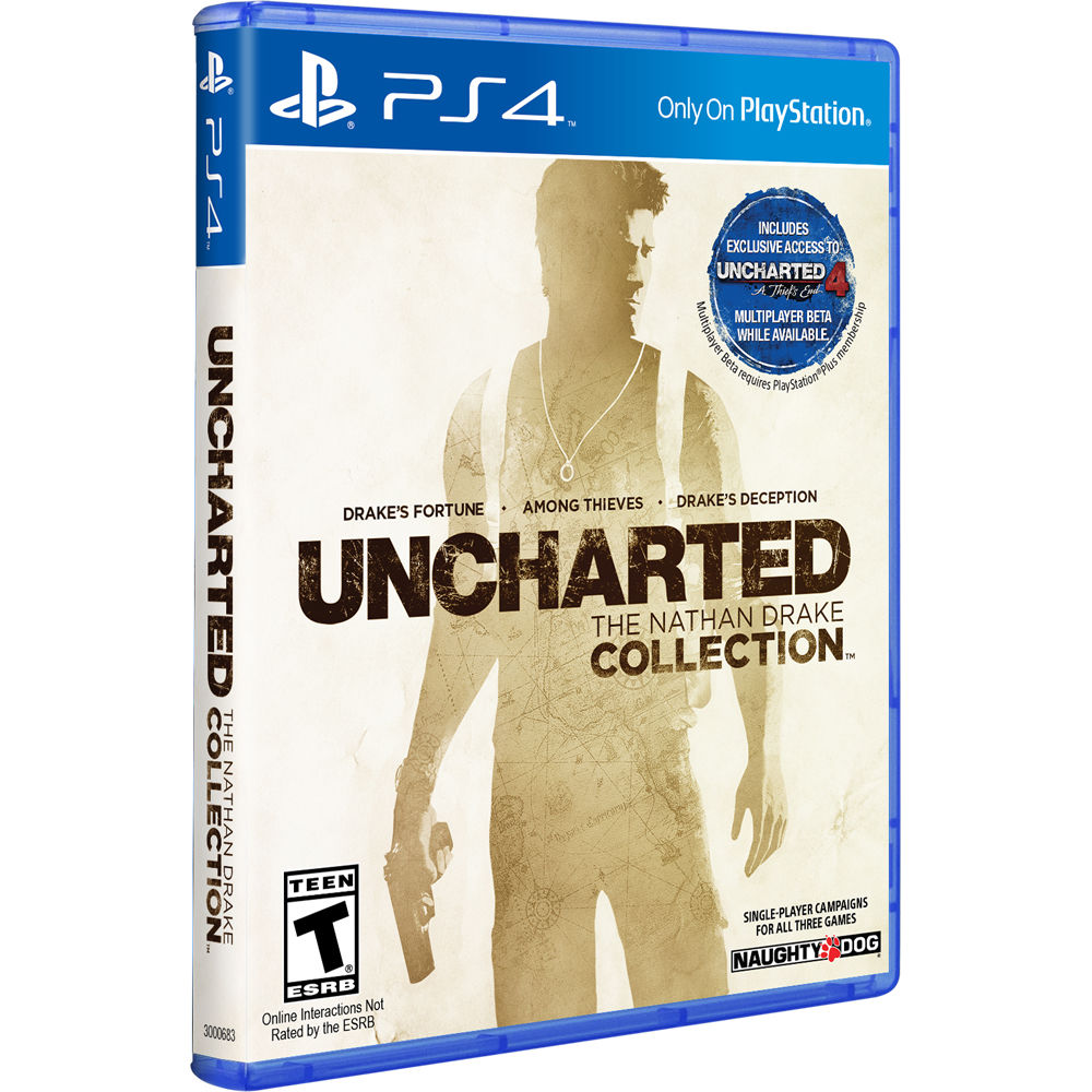 Sony Uncharted The Nathan Drake Collection Ps4 3000683 B H