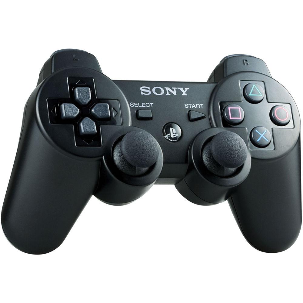 Sony DualShock 3 Wireless Controller (Black) 99004 B&H Photo