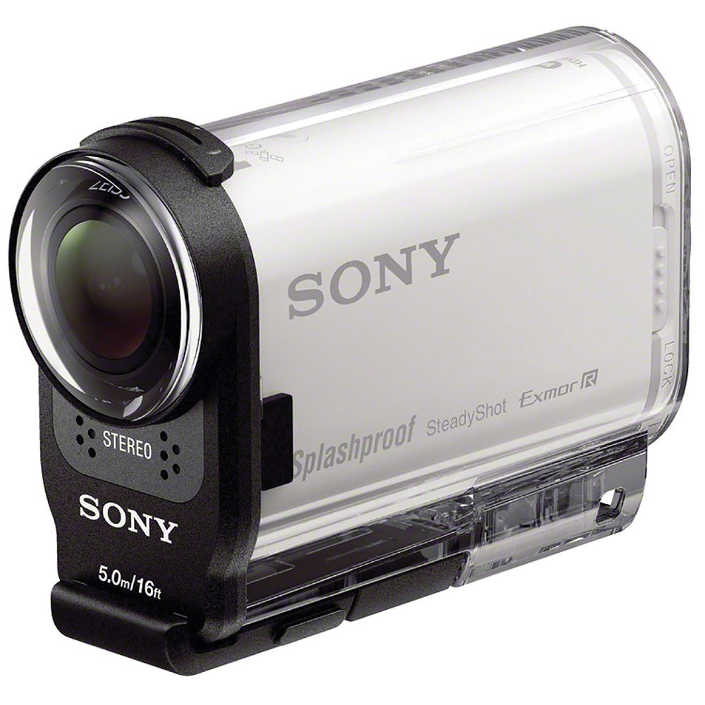 Sony HDR AS200V Full HD Action Cam HDRAS200V W B&H Video