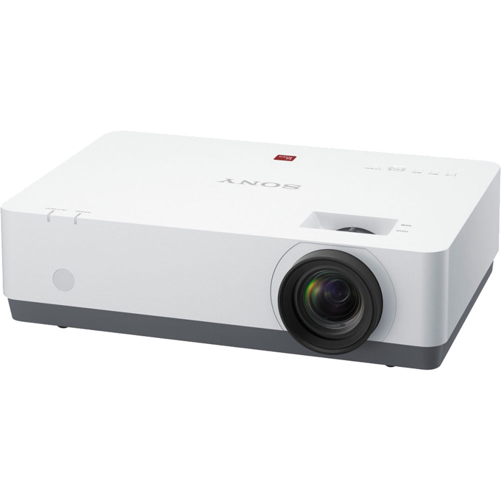 Sony e series vpl ew348 wxga portable projector vpl ew348 b h for Portable projector reviews