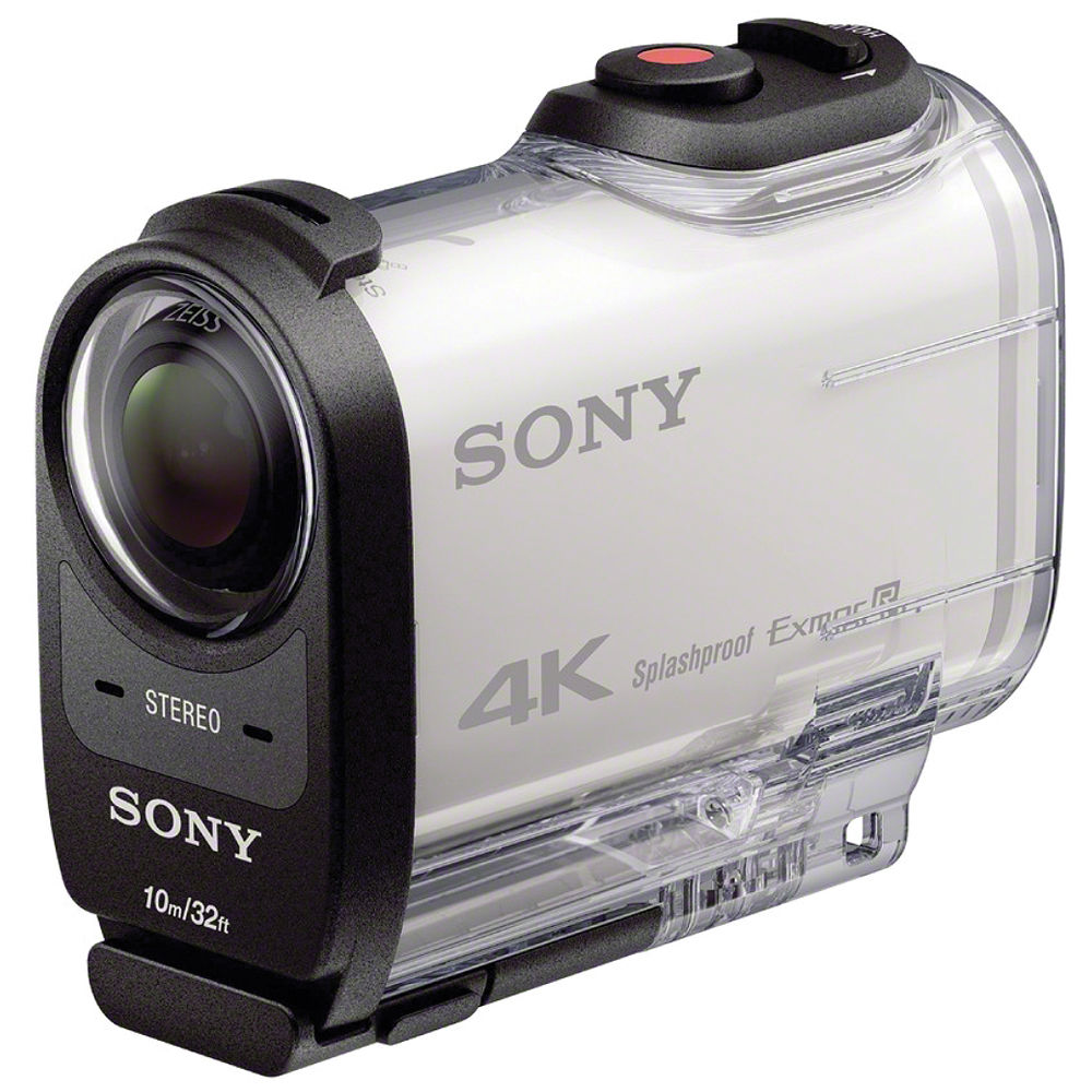 sony fdr x1000v 4k action cam fdrx1000v w b h photo video. Black Bedroom Furniture Sets. Home Design Ideas