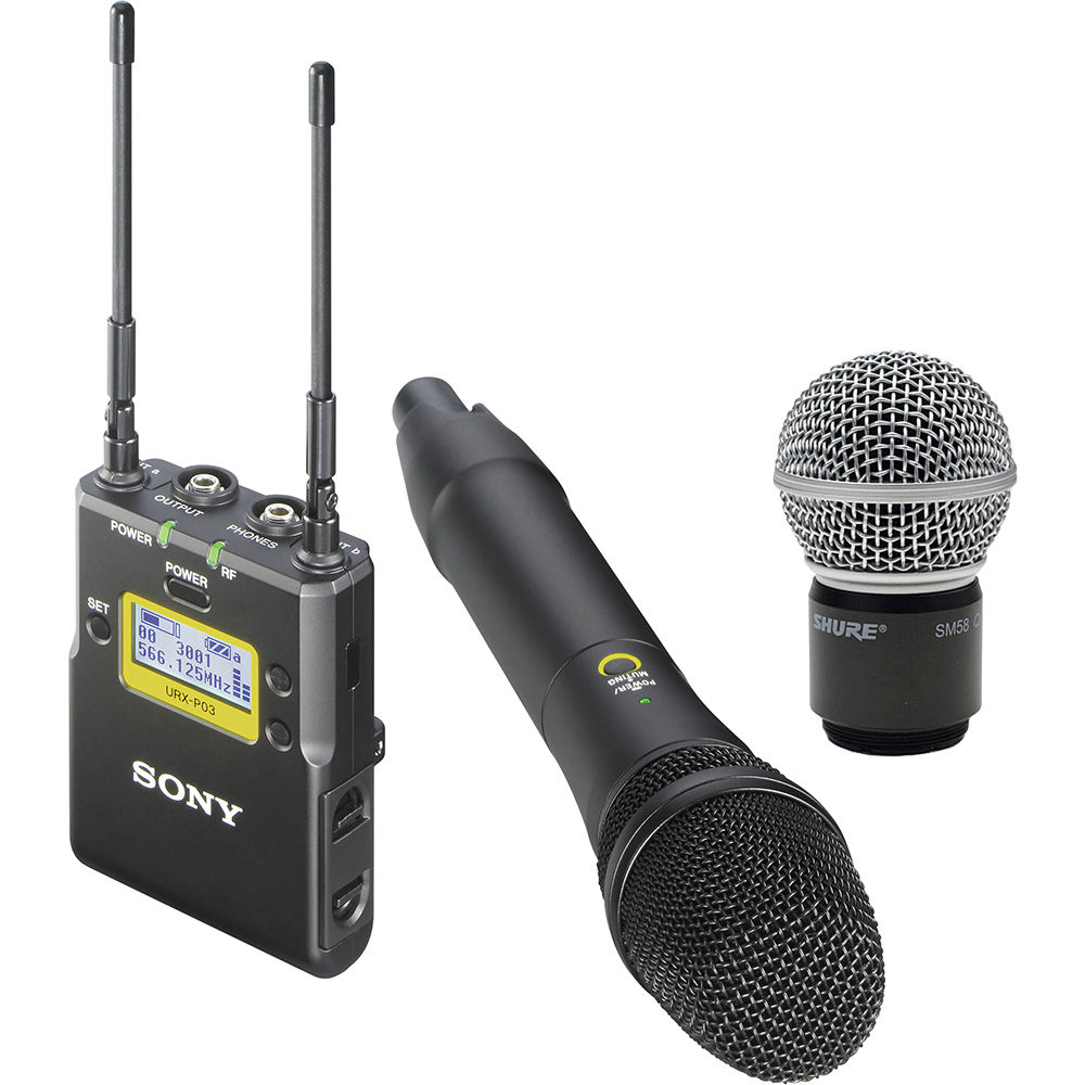 Sony UWP-D12 Integrated Digital Wireless Handheld Microphone B&H