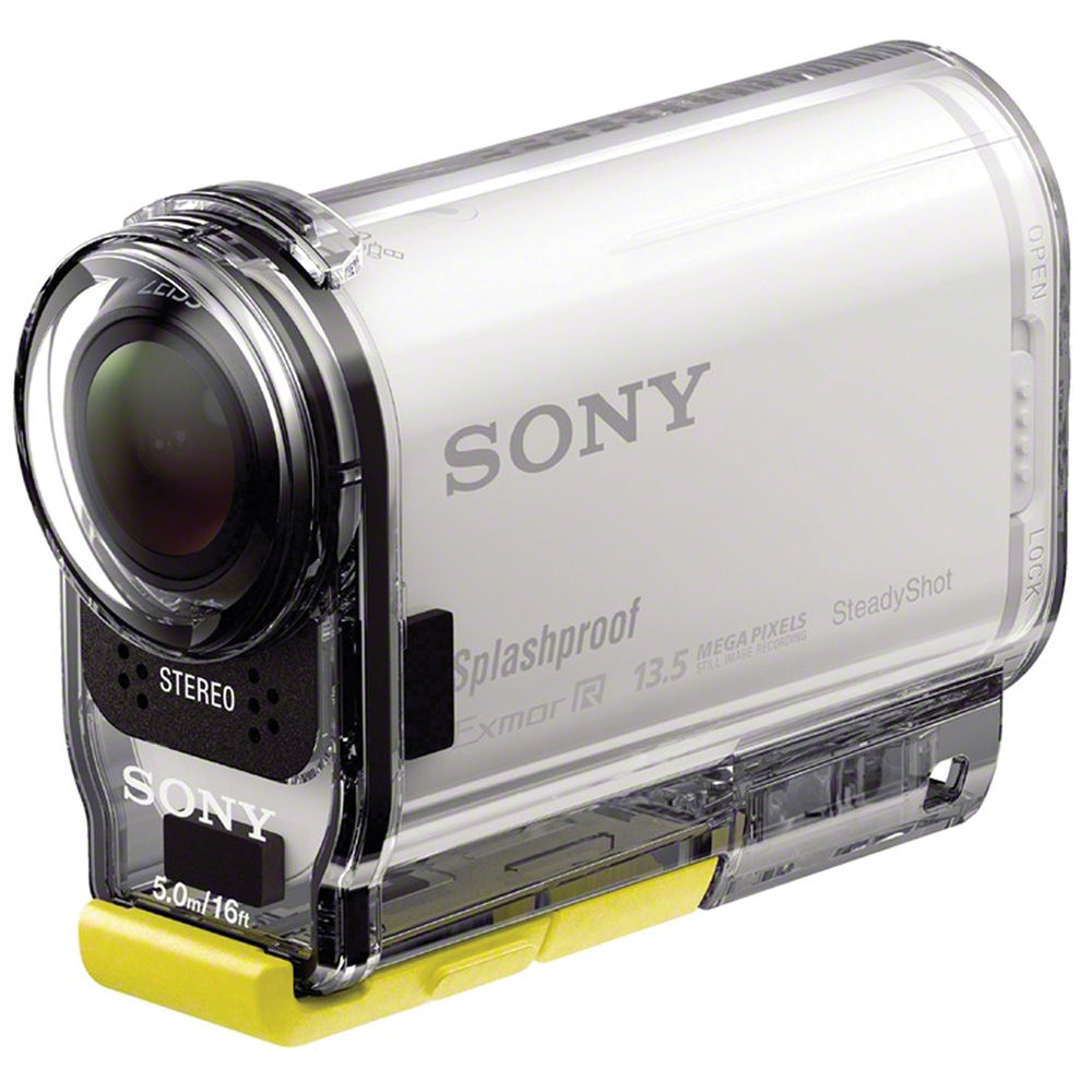 sony hdr as100v pov action cam hdras100v w b h photo video. Black Bedroom Furniture Sets. Home Design Ideas
