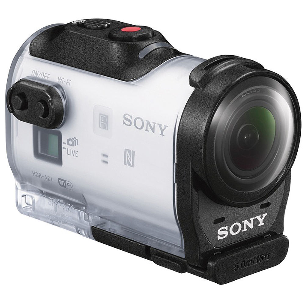 sony hdr az1 action cam mini hdraz1 w b h photo video. Black Bedroom Furniture Sets. Home Design Ideas