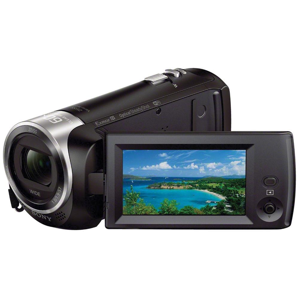 Sony HDR-PJ330E Camcorder - Schwarz