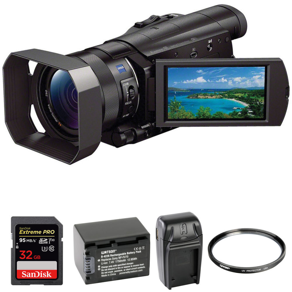 Sony Hdr Cx900 Hd Camcorder Basic Kit B Amp H Photo Video