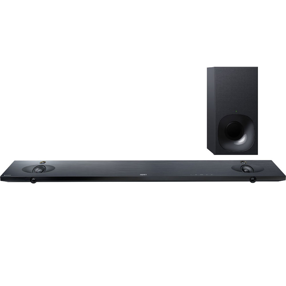 sony 2 1 400w sound bar with wireless subwoofer htnt5. Black Bedroom Furniture Sets. Home Design Ideas
