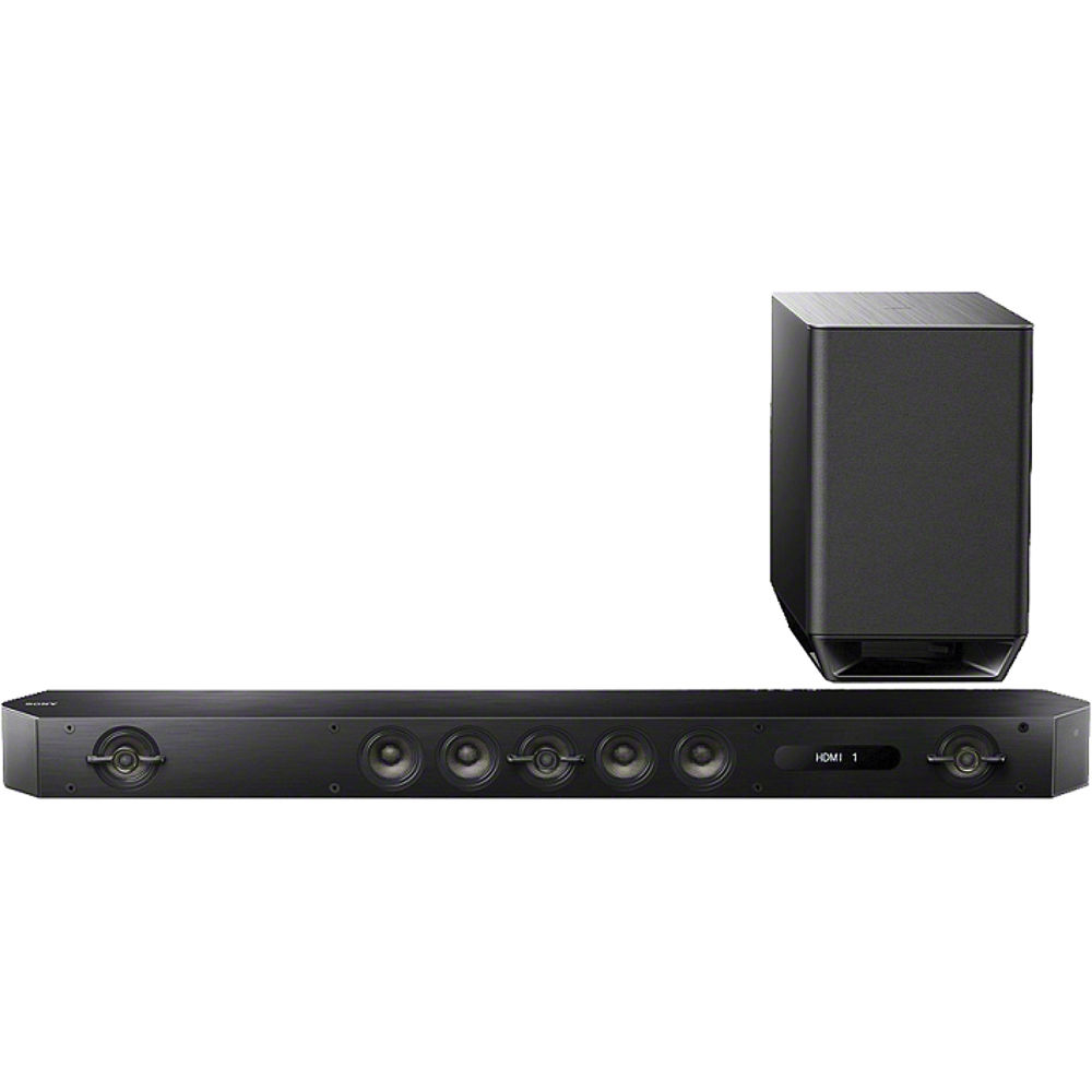 sony ht st9 800w 7 1 channel soundbar system ht st9 b h photo. Black Bedroom Furniture Sets. Home Design Ideas