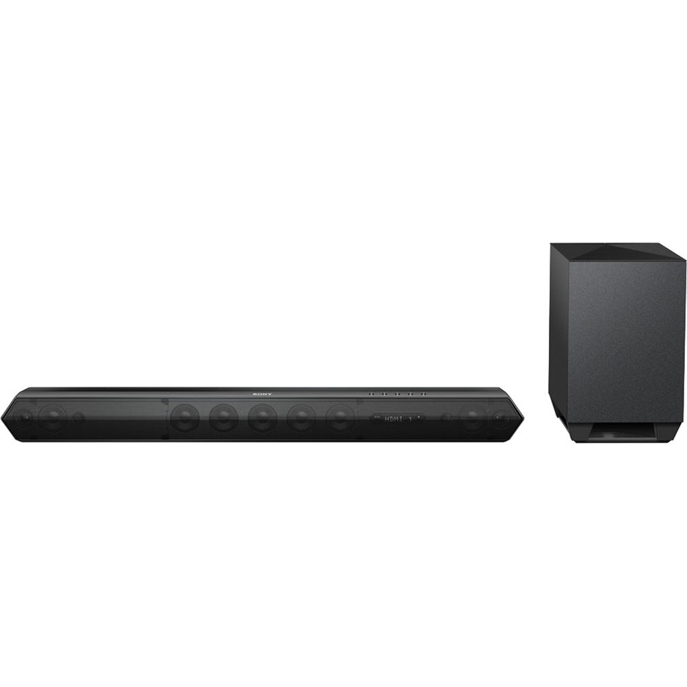 sony ht st7 450w 7 1 channel soundbar system htst7 b h photo. Black Bedroom Furniture Sets. Home Design Ideas