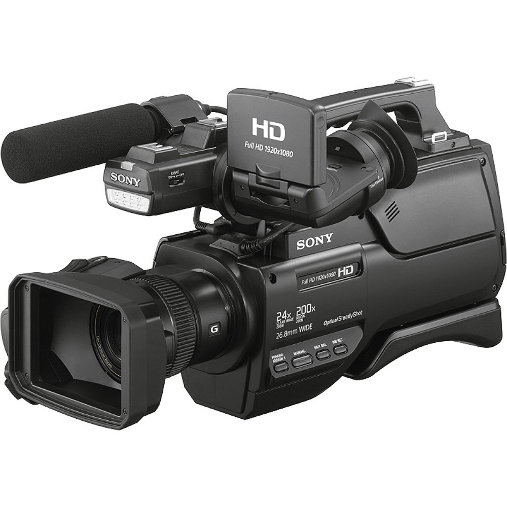 4e5ef0d5604 Sony HXR-MC2500 Shoulder Mount AVCHD Camcorder HXR-MC2500 B H