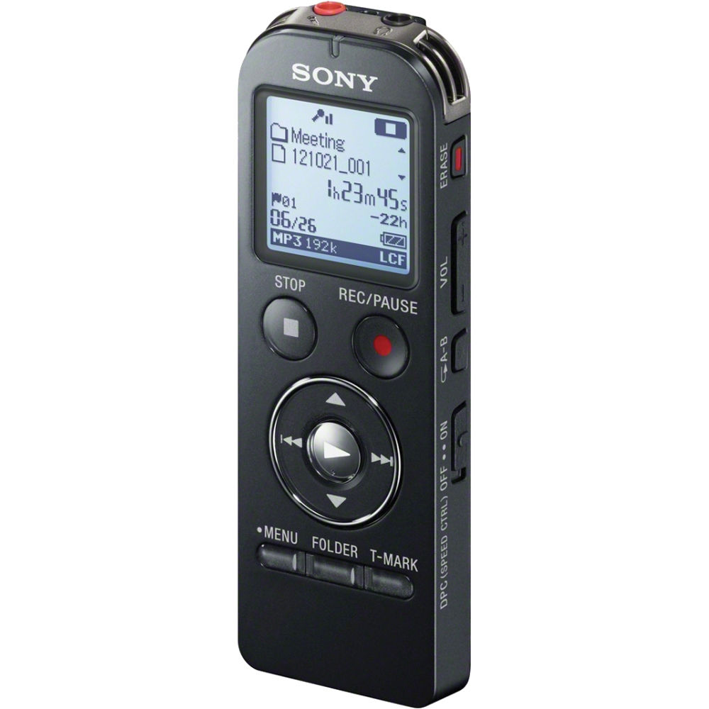 Sony ICD-UX533 Digital Flash Voice Recorder (Black ...