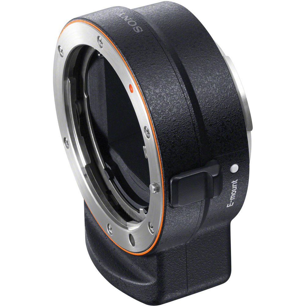 Sony A Mount To E Mount Lens Adapter Black Laea3 B Amp H Photo