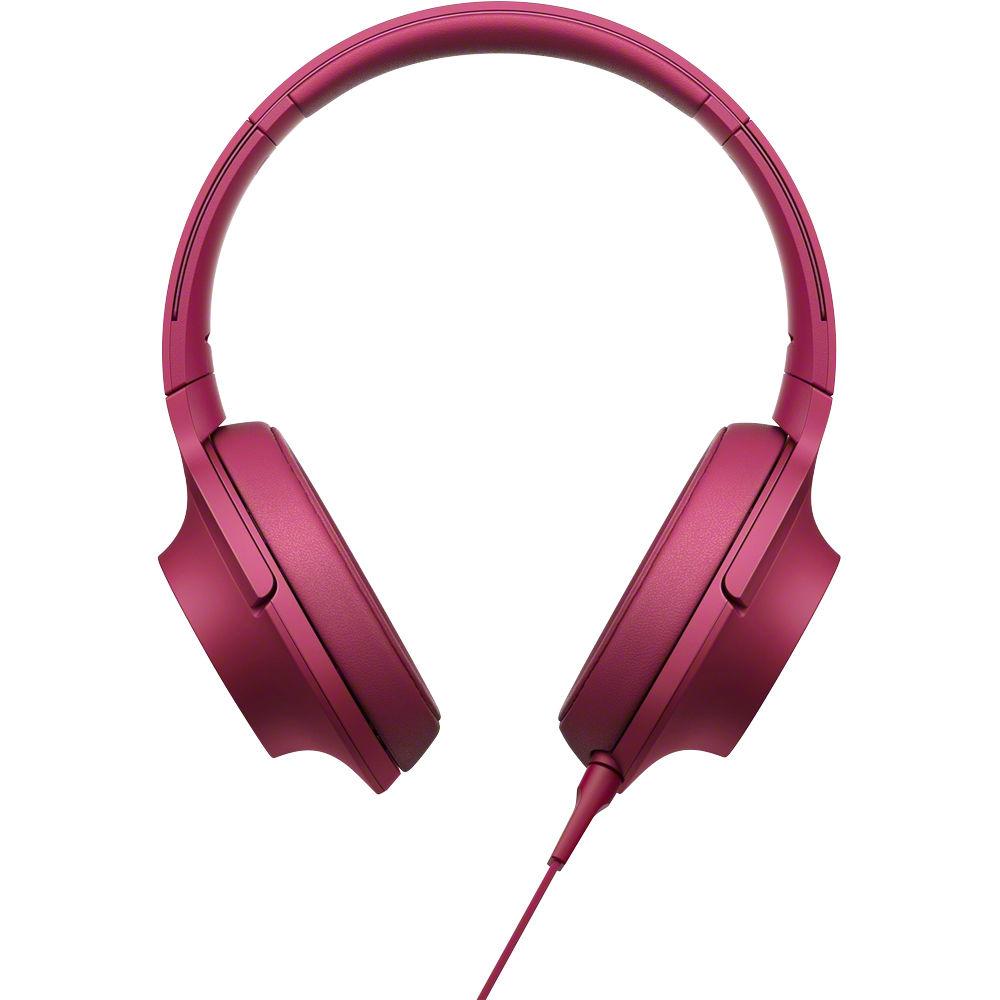 Sony h.ear on High-Resolution Audio Headphones MDR-100AAP ...
