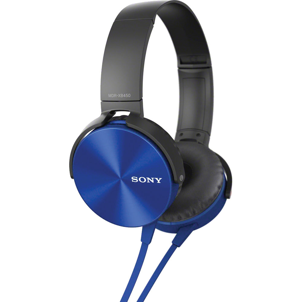 Sony Mdrxb450 Extra Bass Headphones With In Line Mdrxb450ap L