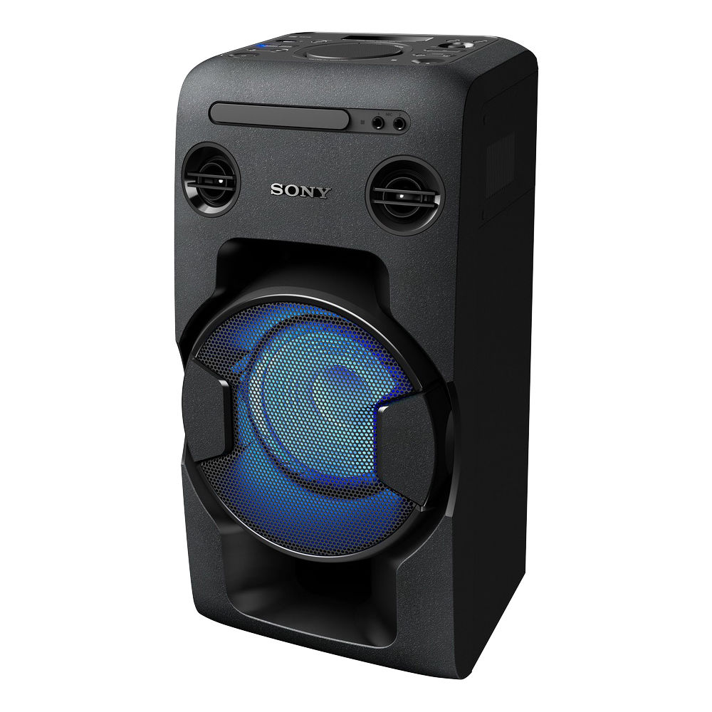 sony mhc v11 high power home audio system with bluetooth. Black Bedroom Furniture Sets. Home Design Ideas
