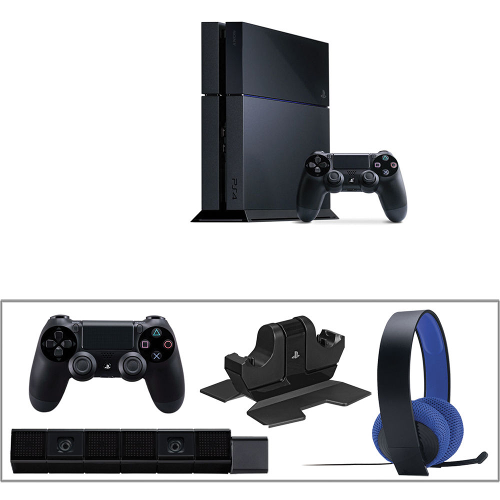 Sony PlayStation 4 Gaming Console Kit with PlayStation 4 Camera