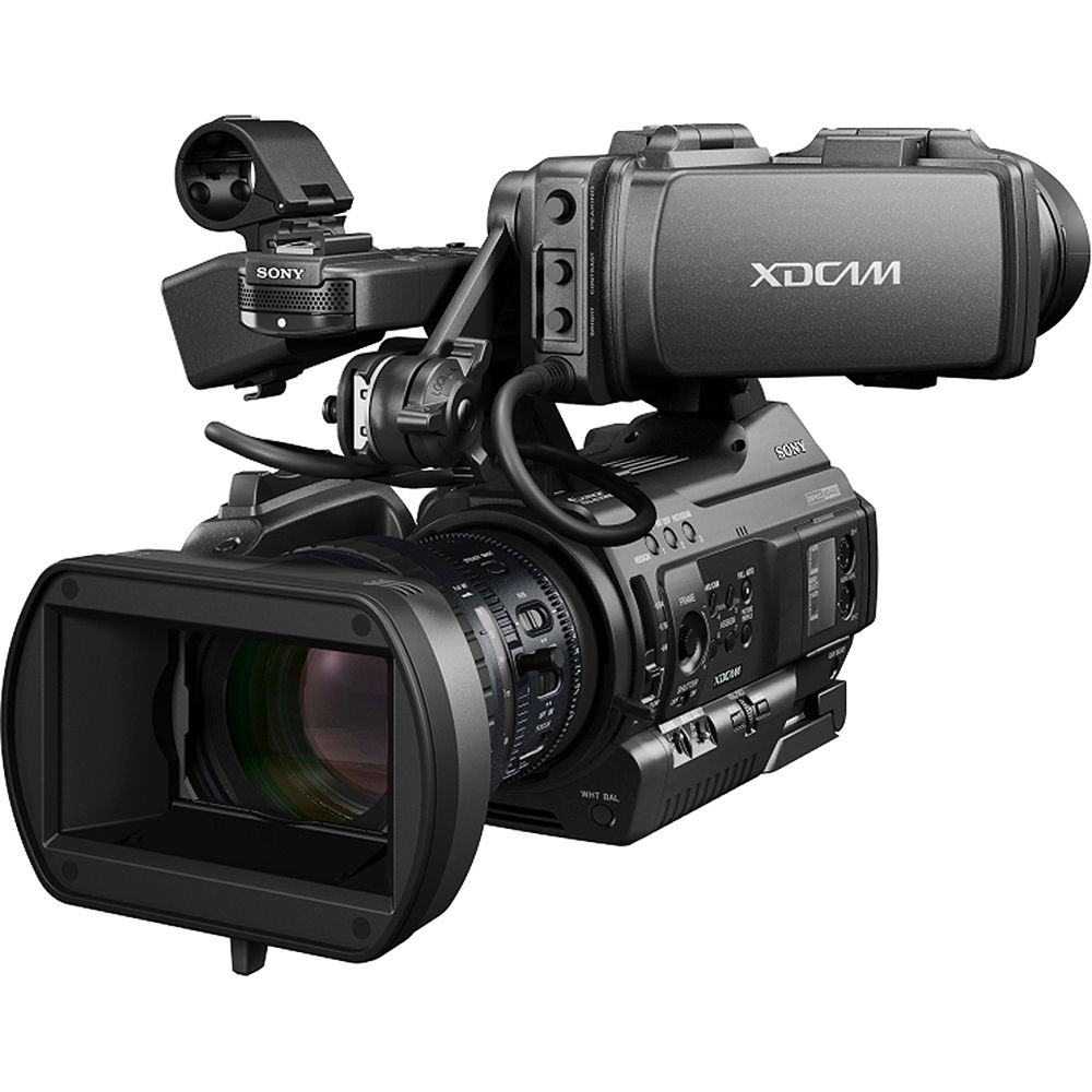 Sony pmw 300k1 xdcam hd camcorder pmw 300k1 b h photo video - Tv in camera ...