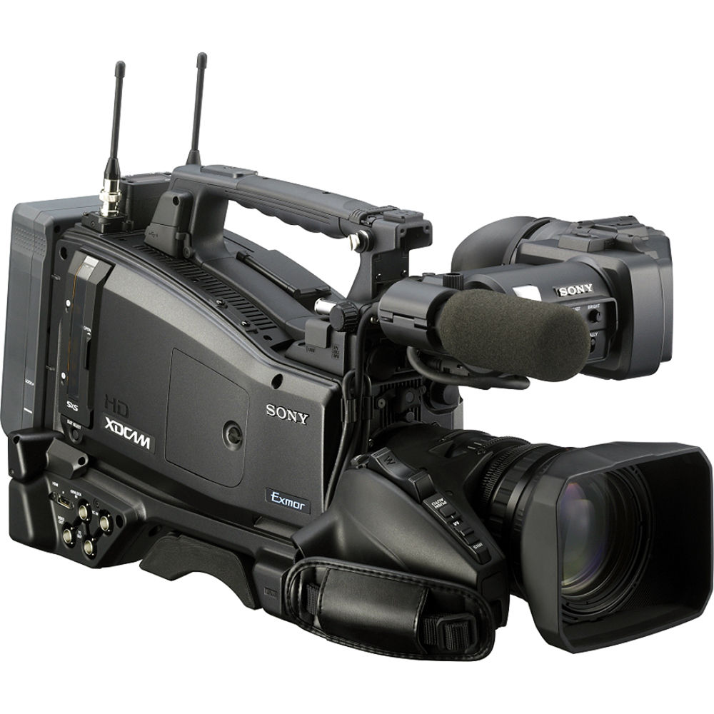 sony pmw 400k 2 3 xdcam ex hd camcorder with lens pmw 400k rh bhphotovideo com Sony Professional Camcorders sony xdcam ex-1 manual