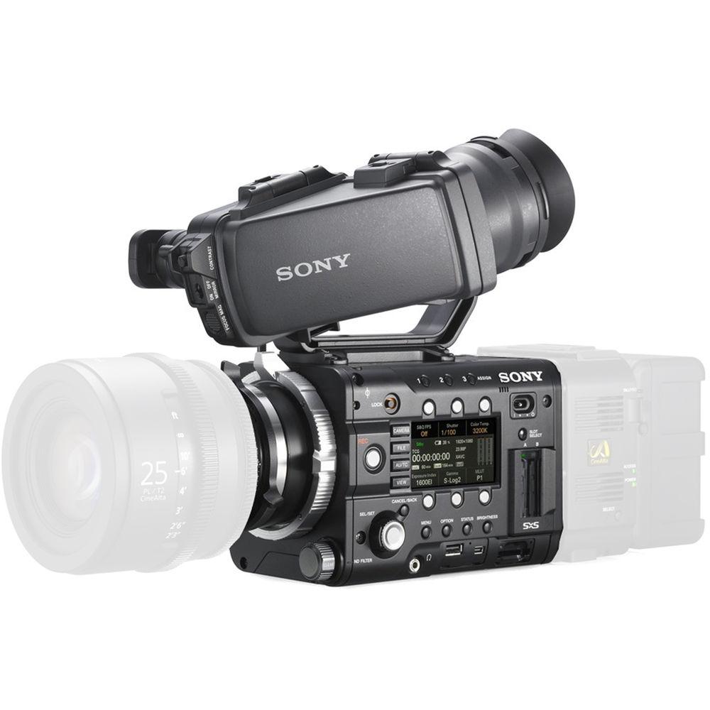 sony f55. sony pmw-f55 cinealta 4k digital cinema camera kit with 3.5\ f55 w