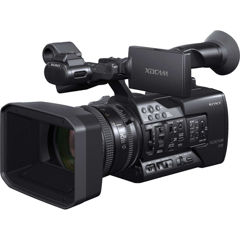 sony pxw x160 full hd xdcam handheld camcorder pxw x160 b h. Black Bedroom Furniture Sets. Home Design Ideas