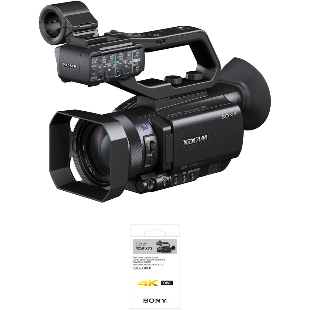 sony pxw x70 professional xdcam compact camcorder pxw x70 b h. Black Bedroom Furniture Sets. Home Design Ideas