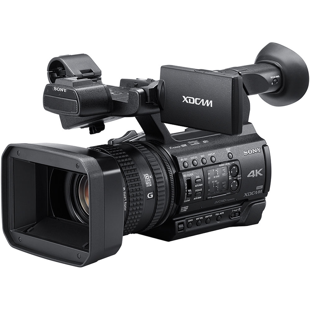 Sony PXW-Z150 4K XDCAM Camcorder PXW-Z150 B&H Photo Video