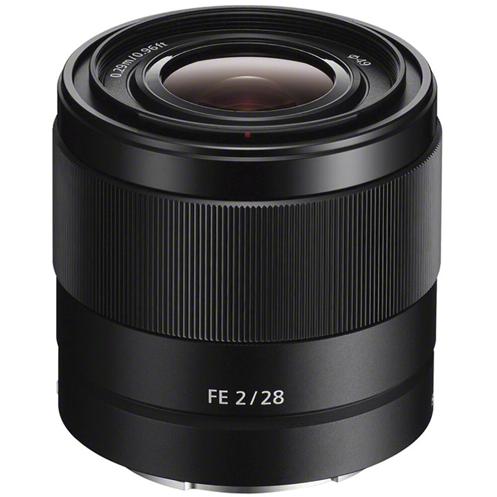 sony fe 28mm f 2 lens sel28f20 b h photo video. Black Bedroom Furniture Sets. Home Design Ideas