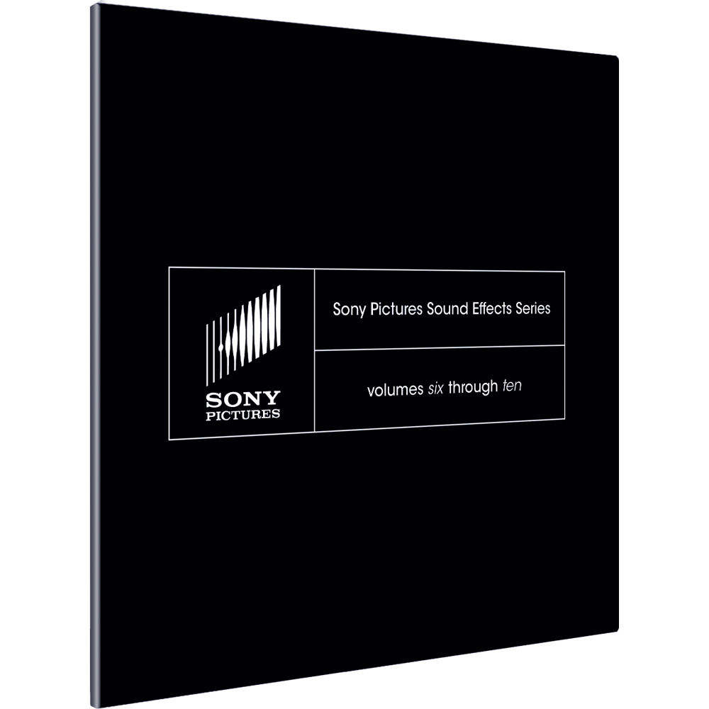 Sony pictures sound effects series volumes one through ten