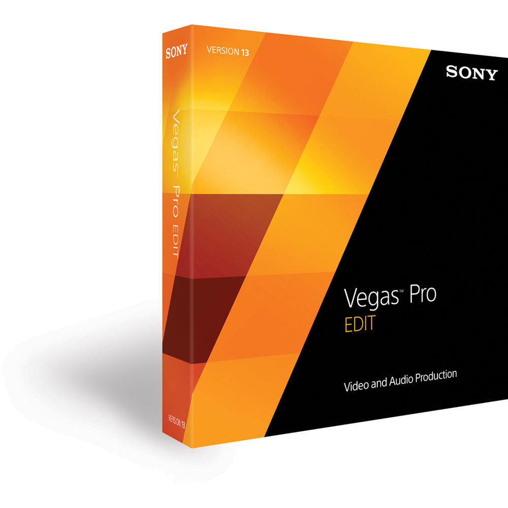 Sony Vegas Pro 13 Edit Upgrade (boxed)