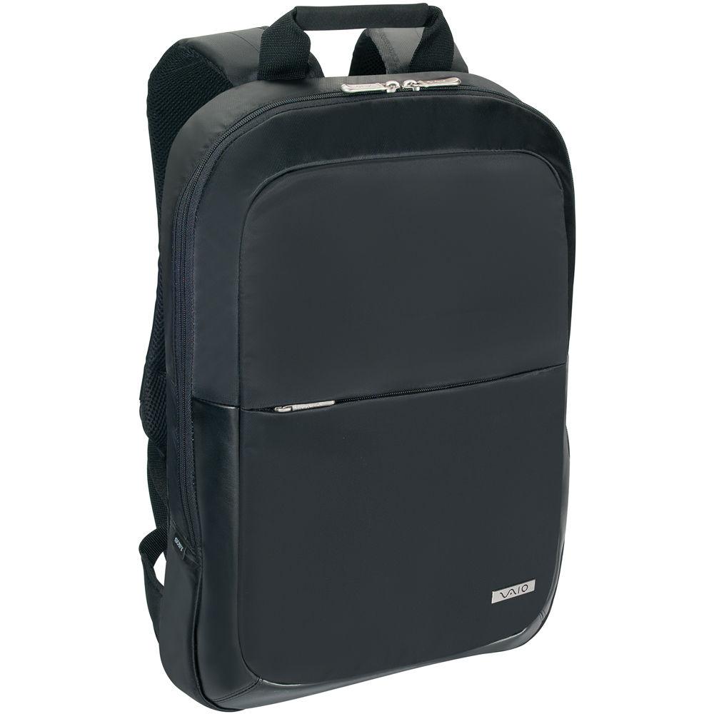 sony vaio slim laptop backpack vgpamk1a16 b b h photo video. Black Bedroom Furniture Sets. Home Design Ideas