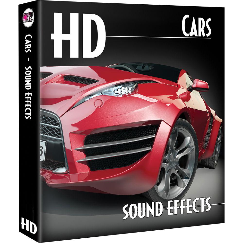 Sound Ideas Cars HD Sound Effects Library SI-G-CARS 1648 DN B&H