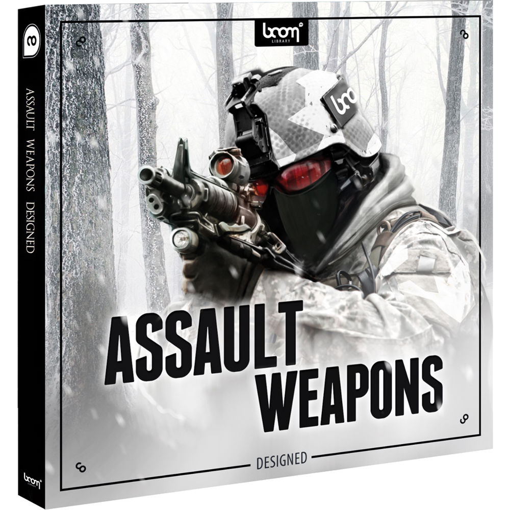 Boom Library - Assault Weapons