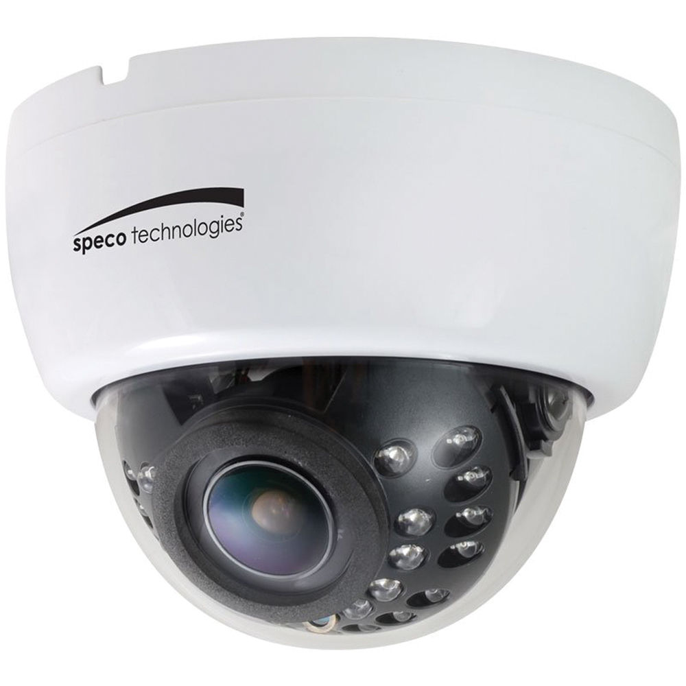 Speco Technologies 960H 2.8 to 12mm Indoor Dome Camera ...