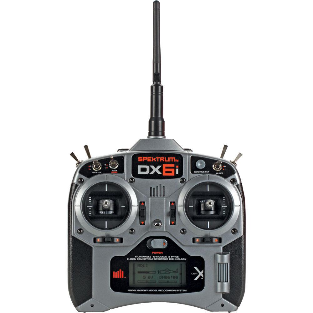 Spektrum DX6i 6-Channel DSMX Transmitter (TX) for RC SPMR6630